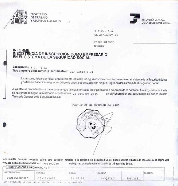 la constructora a la que el alcalde pepero de Boadilla benefició, no existía para la Seguridad Social